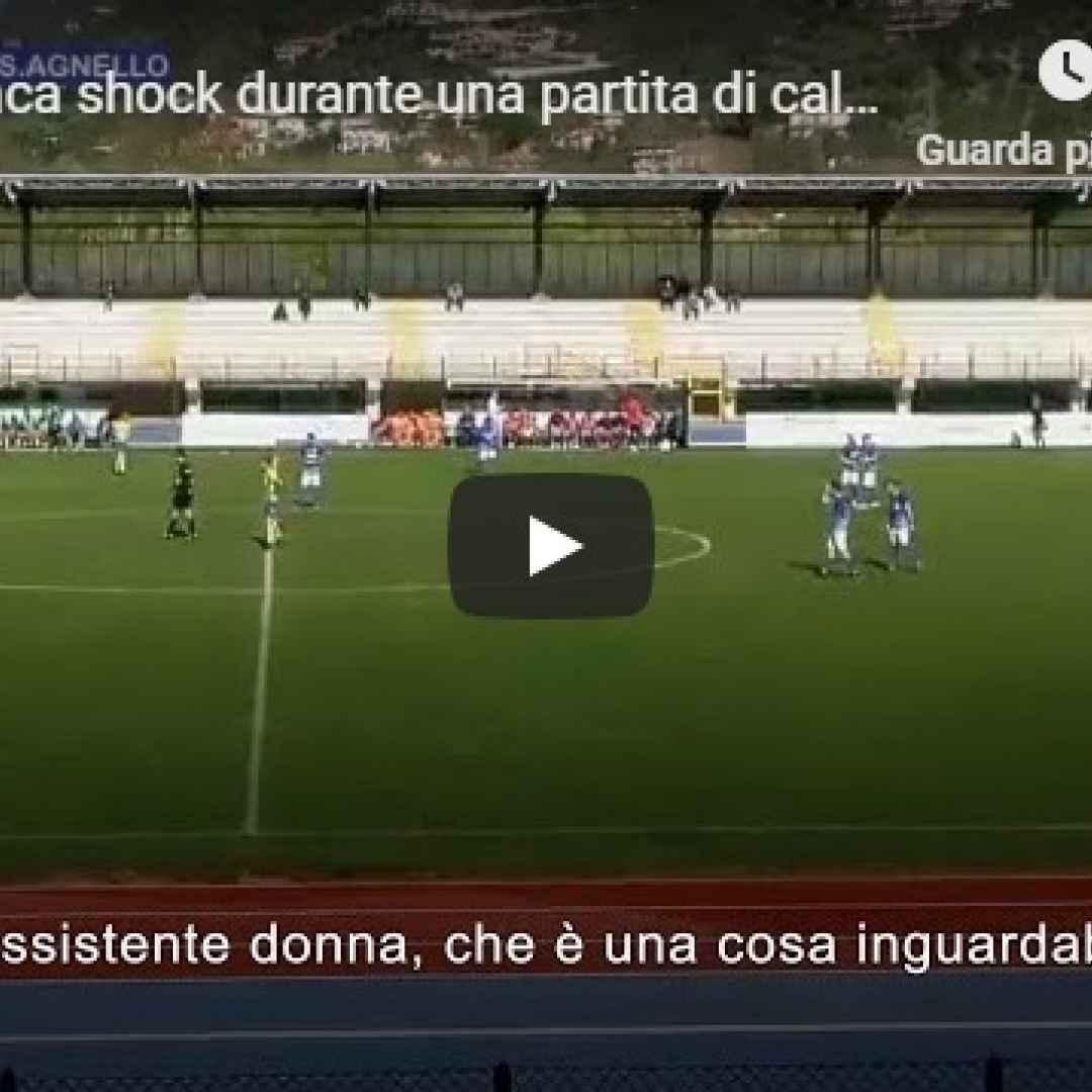 video shock calcio donne arbitro