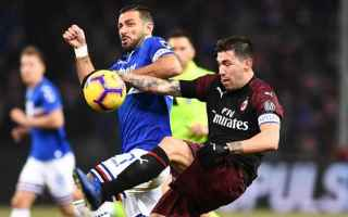 Serie A: milan  sampdoria  serie a