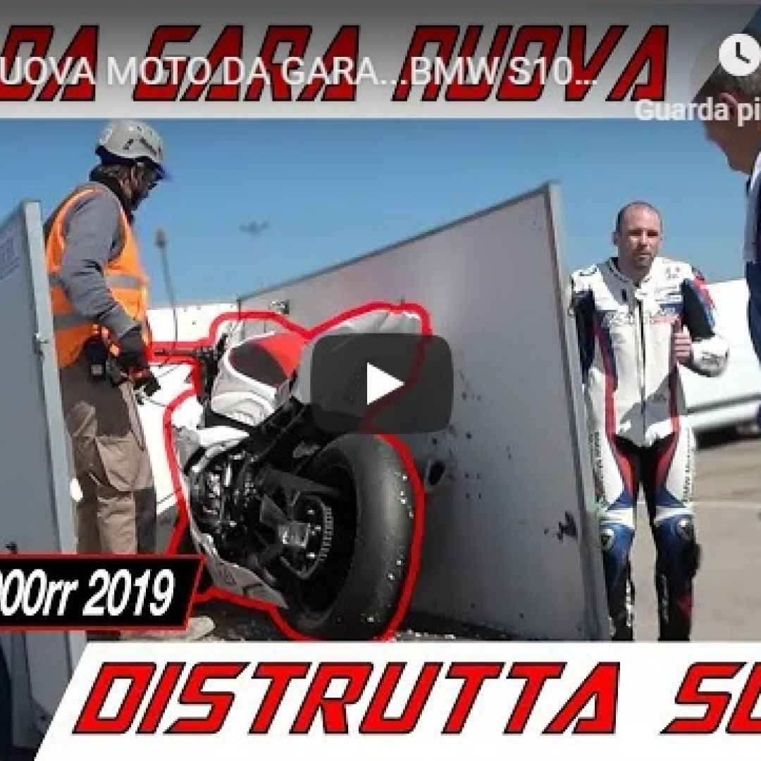 moto motori bmw campionato video