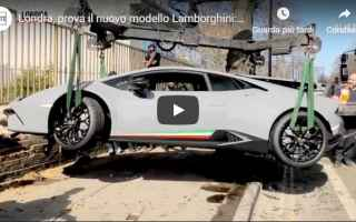 Automobili: motori  auto  video  lamborghini  incidente