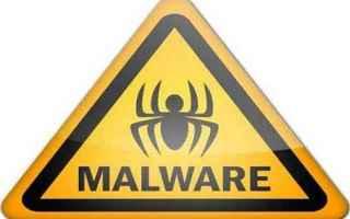 Sicurezza: malware