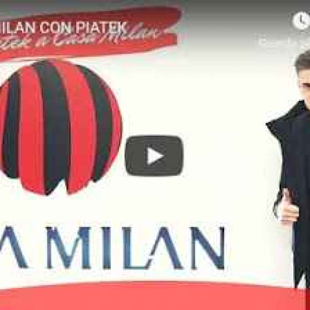 A Casa Milan con Piatek - VIDEO