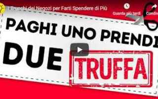 Soldi: video truffa negozi commercio soldi