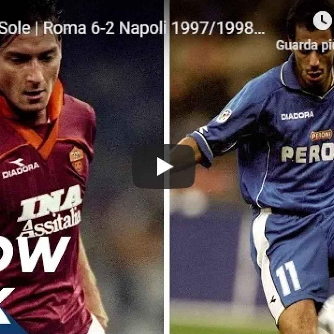 roma napoli video gol calcio