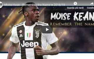 juventus juve calcio video kean