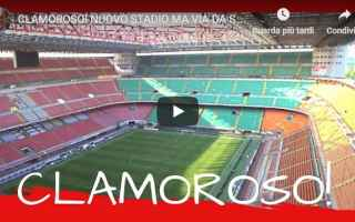 Calcio: inter milan calcio stadio video