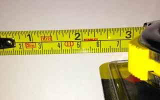 Tecnologie: metro  pollici  centimetri
