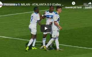 milan atalanta video gol calcio