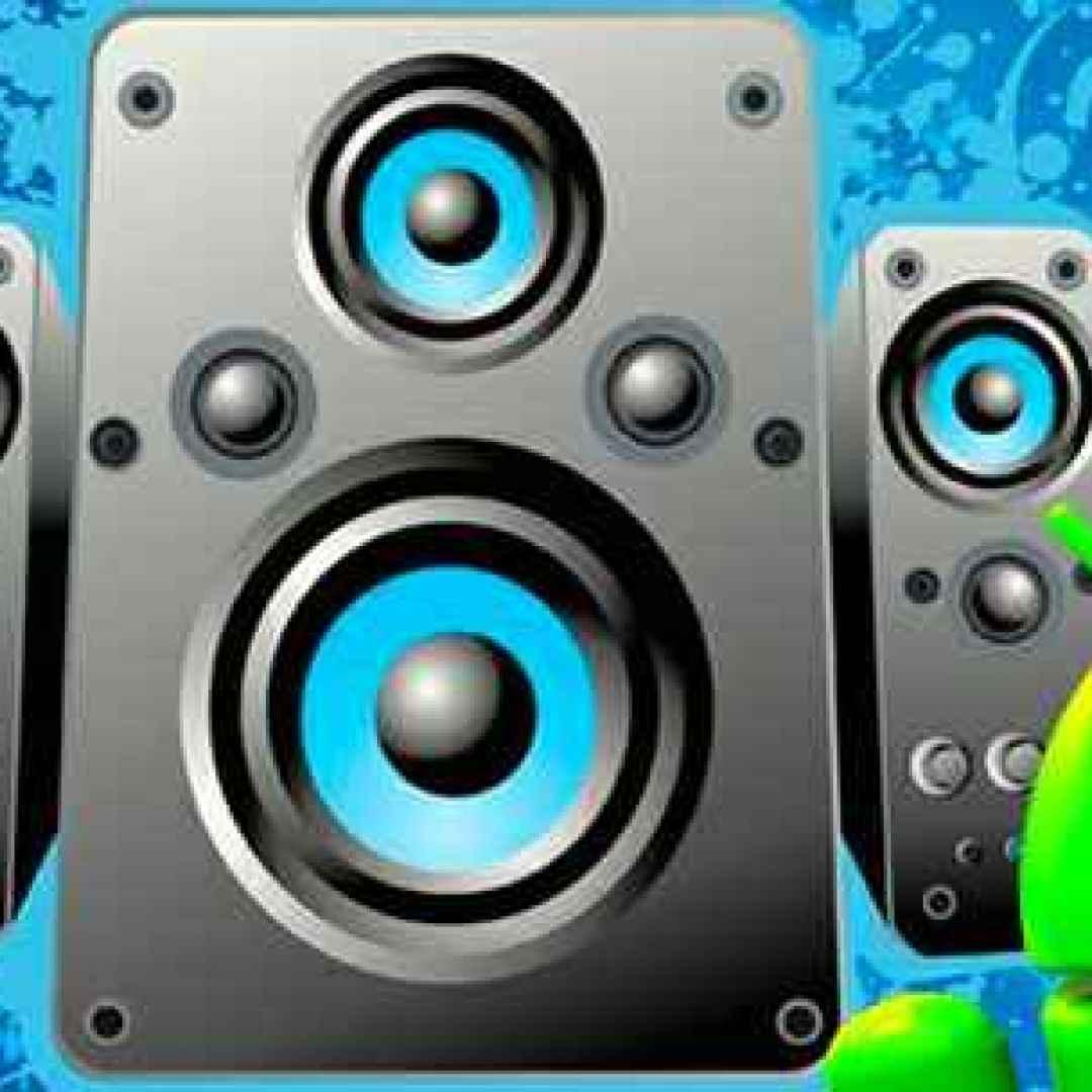 volume  speaker  android  cuffie  apps  suono