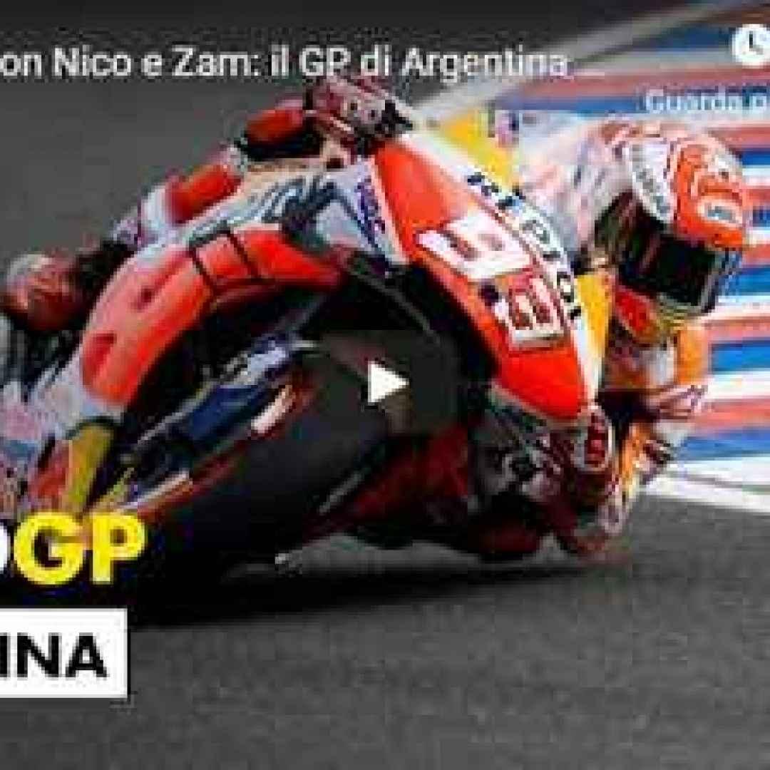 moto motori video motogp argentina