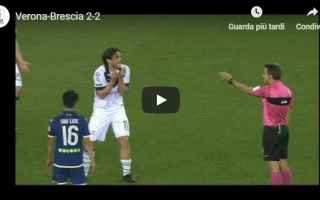 verona brescia video gol calcio