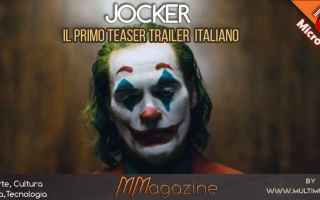 Cinema: joker  trailer