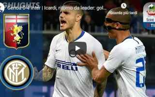 Serie A: genoa inter video gol calcio