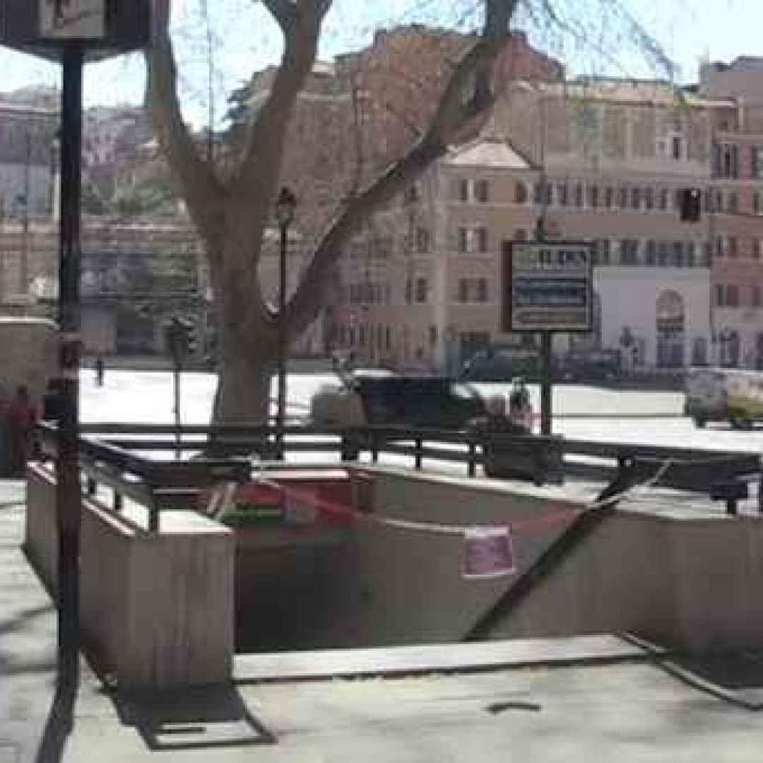 roma  trasporto pubblico  atac  metro a