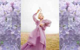 Moda: lilac  color  trend  fashion
