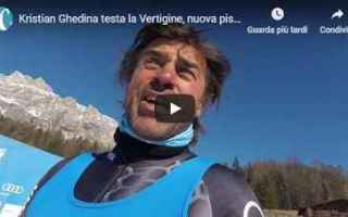 Sport Invernali: video pista sci sport cortina