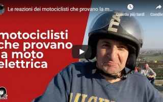 Moto: moto motori video moto elettrica prova