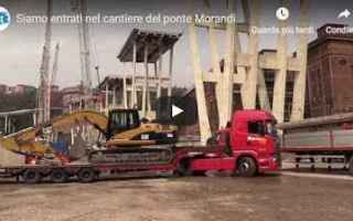 video ponte morandi genova italia