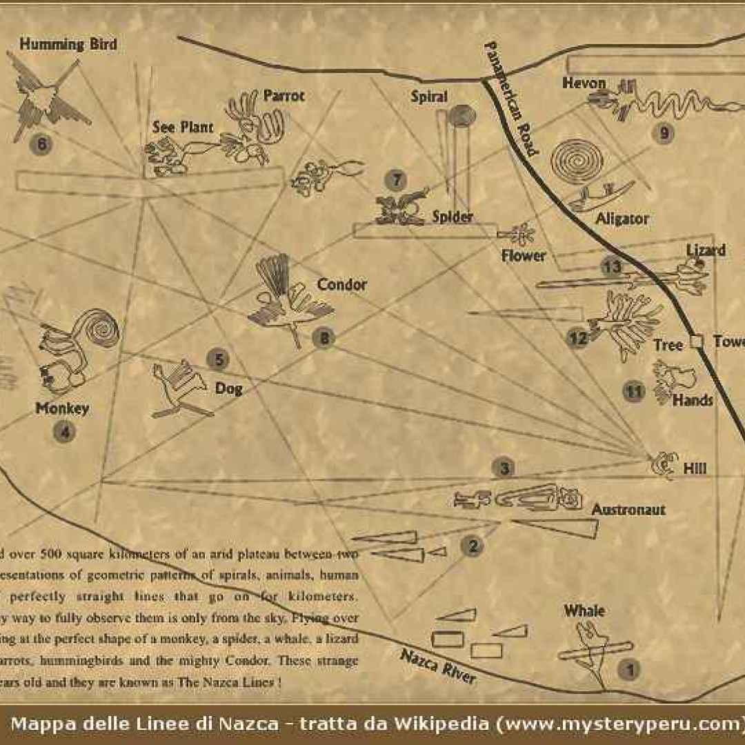 perù  geoglifi  linee di nazca