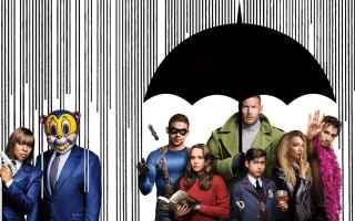 Serie TV : theumbrellaacademy  serietv  netflix