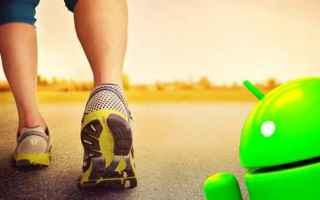Fitness: contapassi  sport  salute  ginnastica  andro