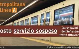 Roma: atac  roma  trasporto pubblico  metro