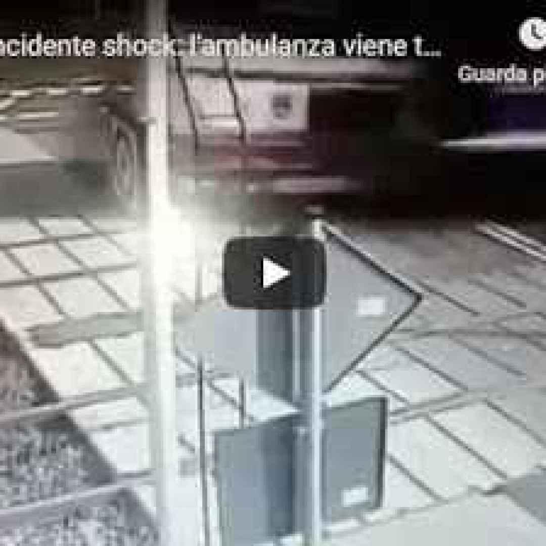 polonia video ambulanza morti incidente