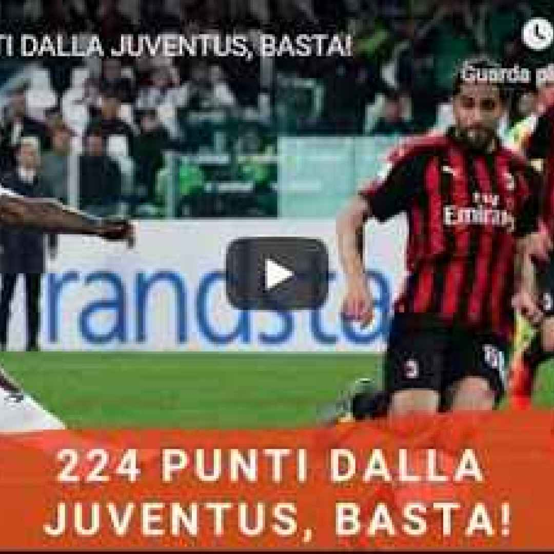 milan juventus video calcio pellegatti