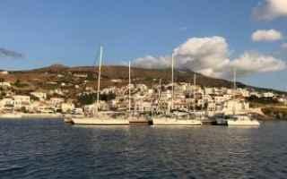 Viaggi: grecia  barcaavela  andros  tinos