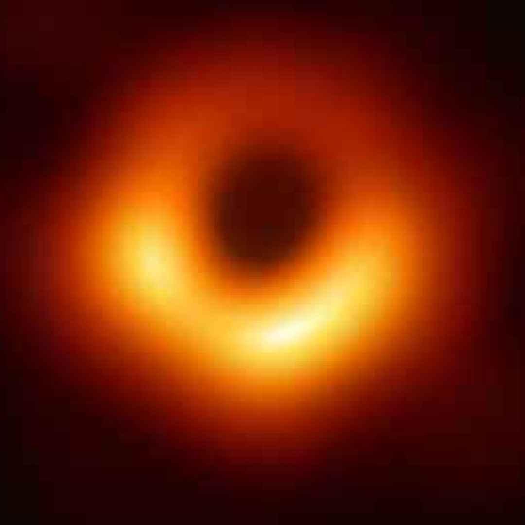 buco nero  scienza  fotografia