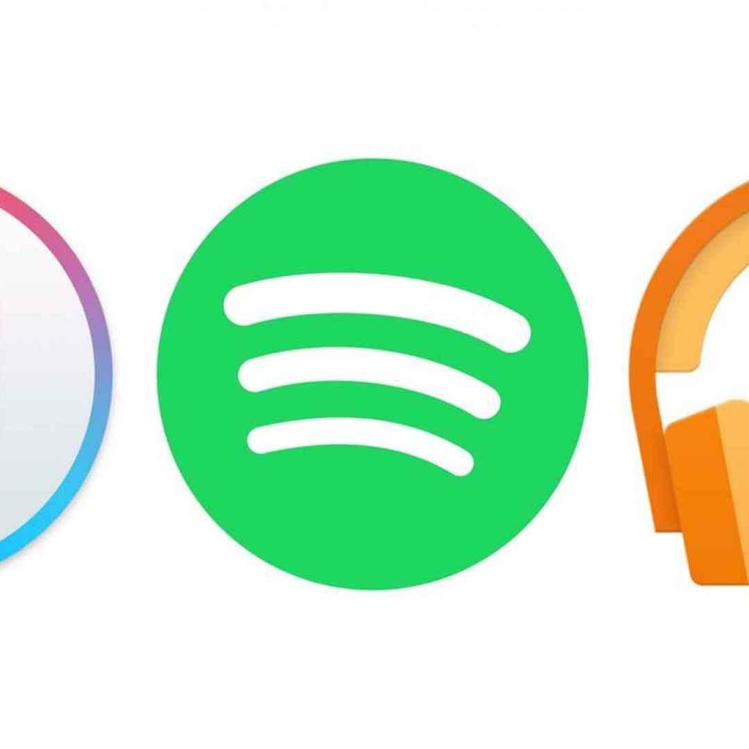 apple  spotify  amazon  music  google
