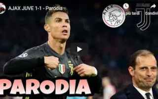 Calcio: ajax juventus video calcio allegri