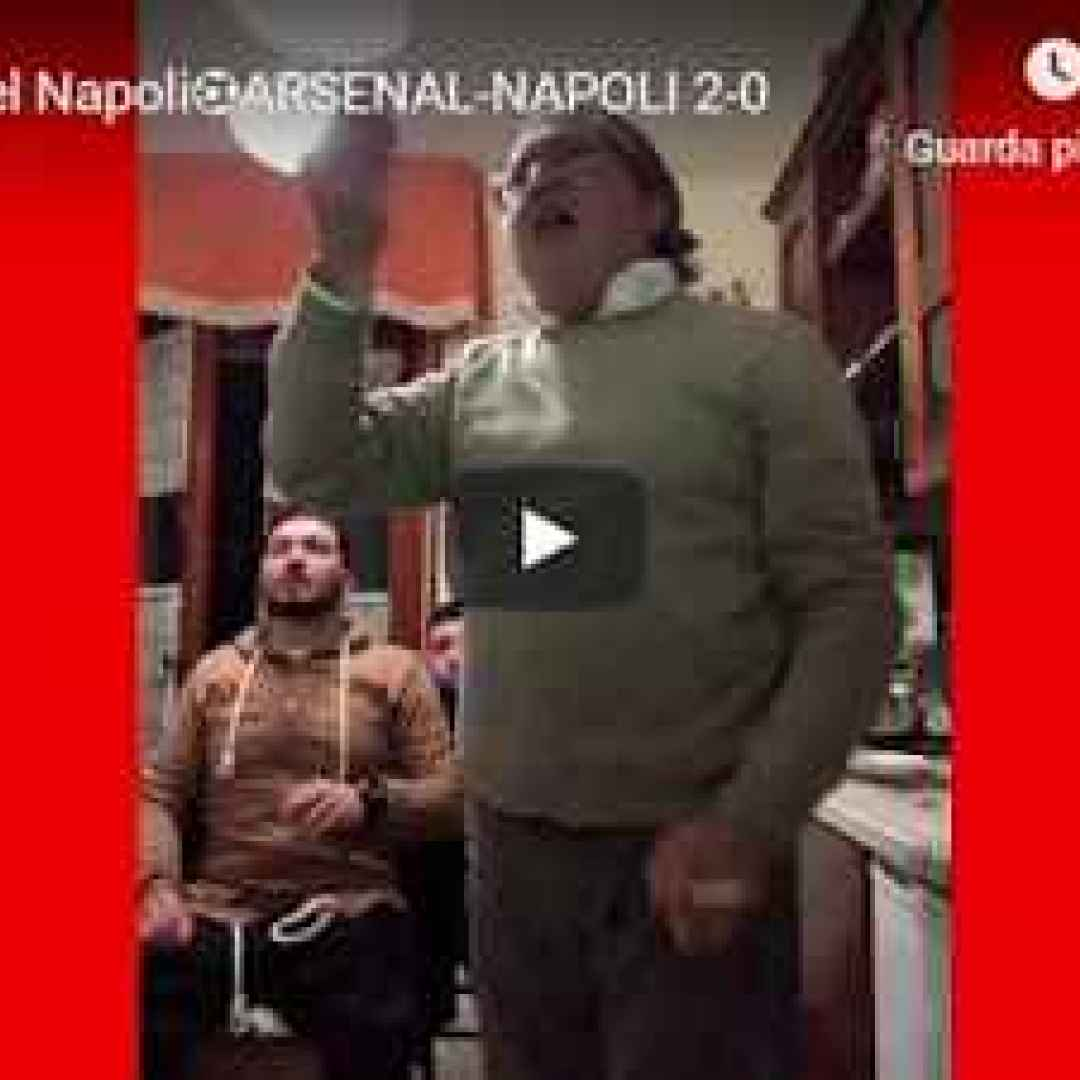 Malato del Napoli ⚽️ Arsenal - Napoli 2-0 - VIDEO