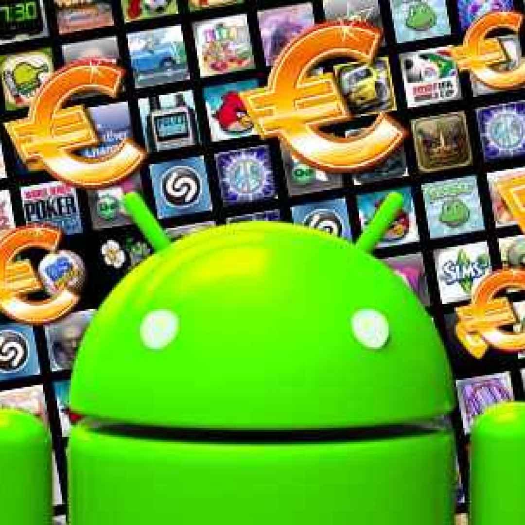 android sconti applicaioni giochi gratis