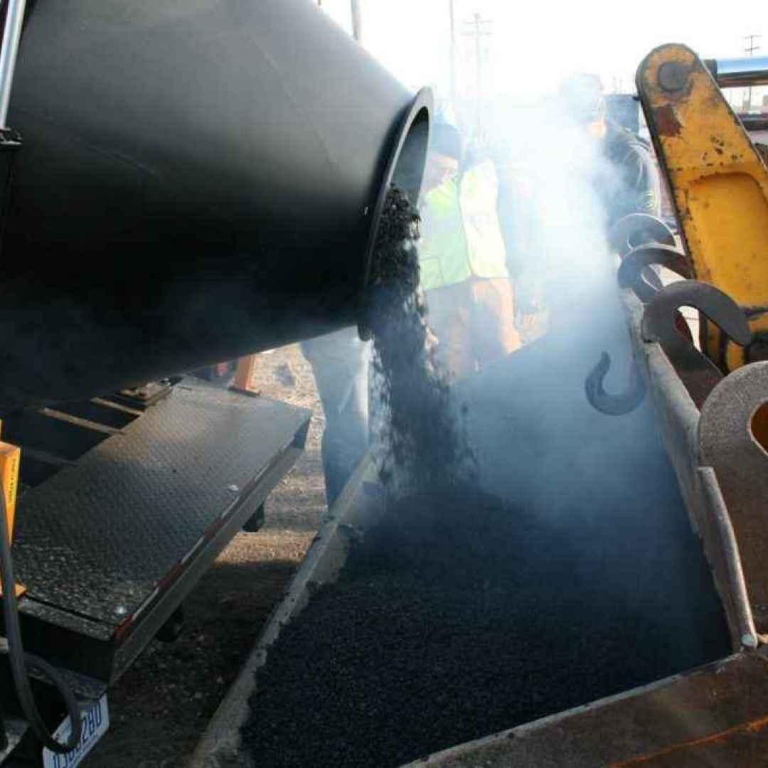 asfalto  ambiente  ecosostenibilità