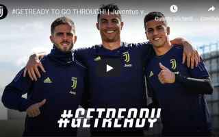 juventus ajax video calcio champions