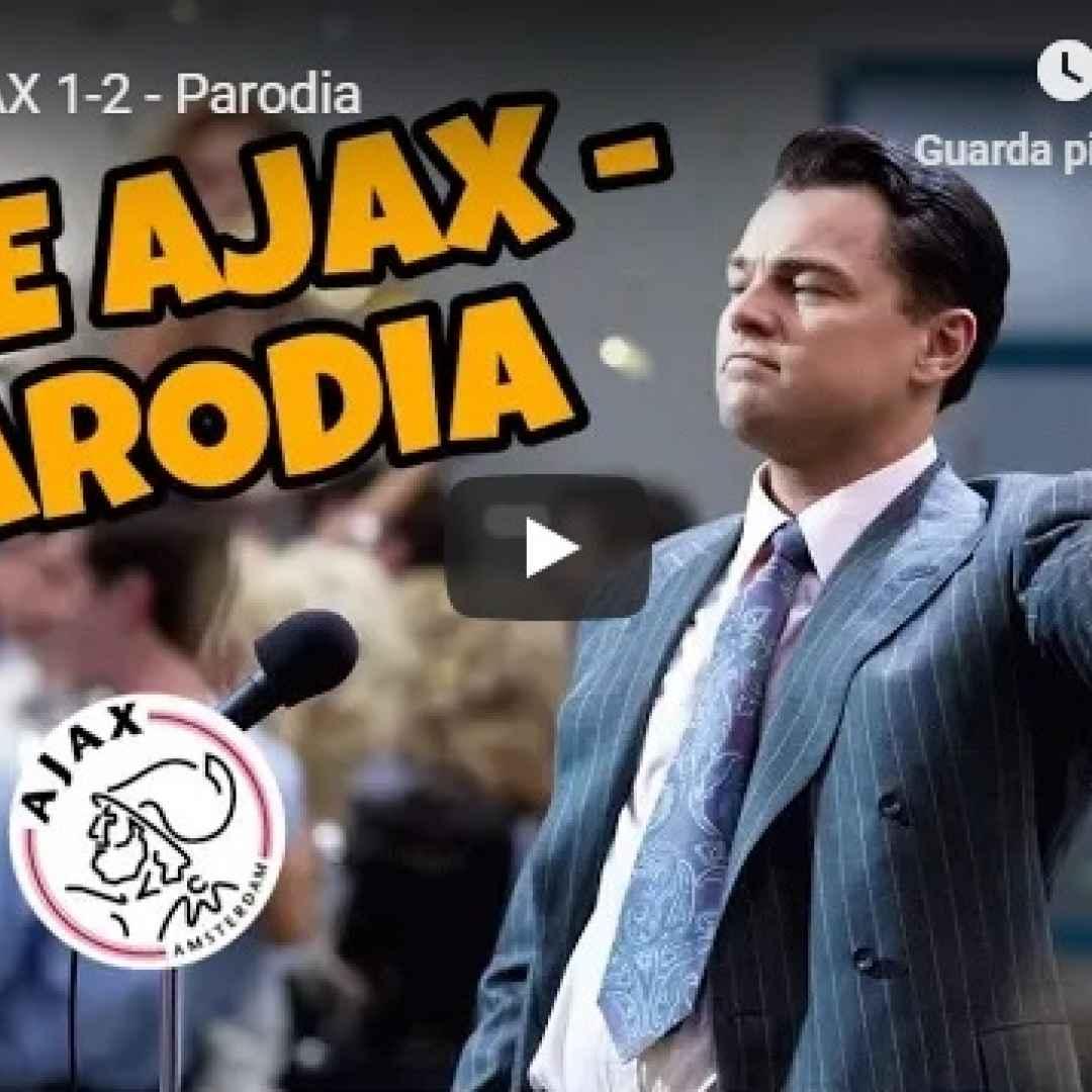juventus  ajax  video  parodia  gli autogol