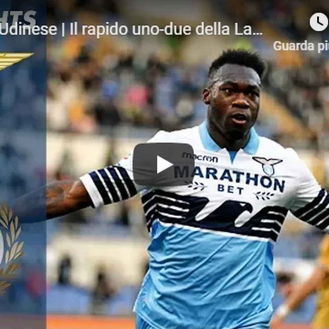 lazio udinese video gol calcio