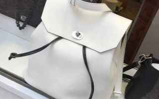 Moda: o bag  zaino  shopping  donna