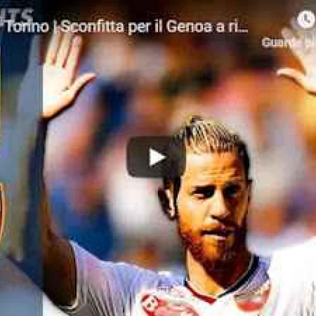 genoa torino video gol calcio