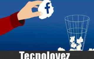 facebook cancellarsi da facebook