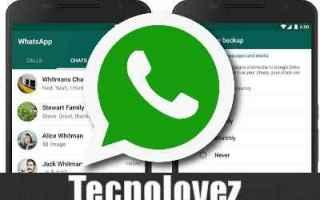 WhatsApp: whatsapp recuperare chat