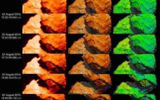 Astronomia: comete  rosetta