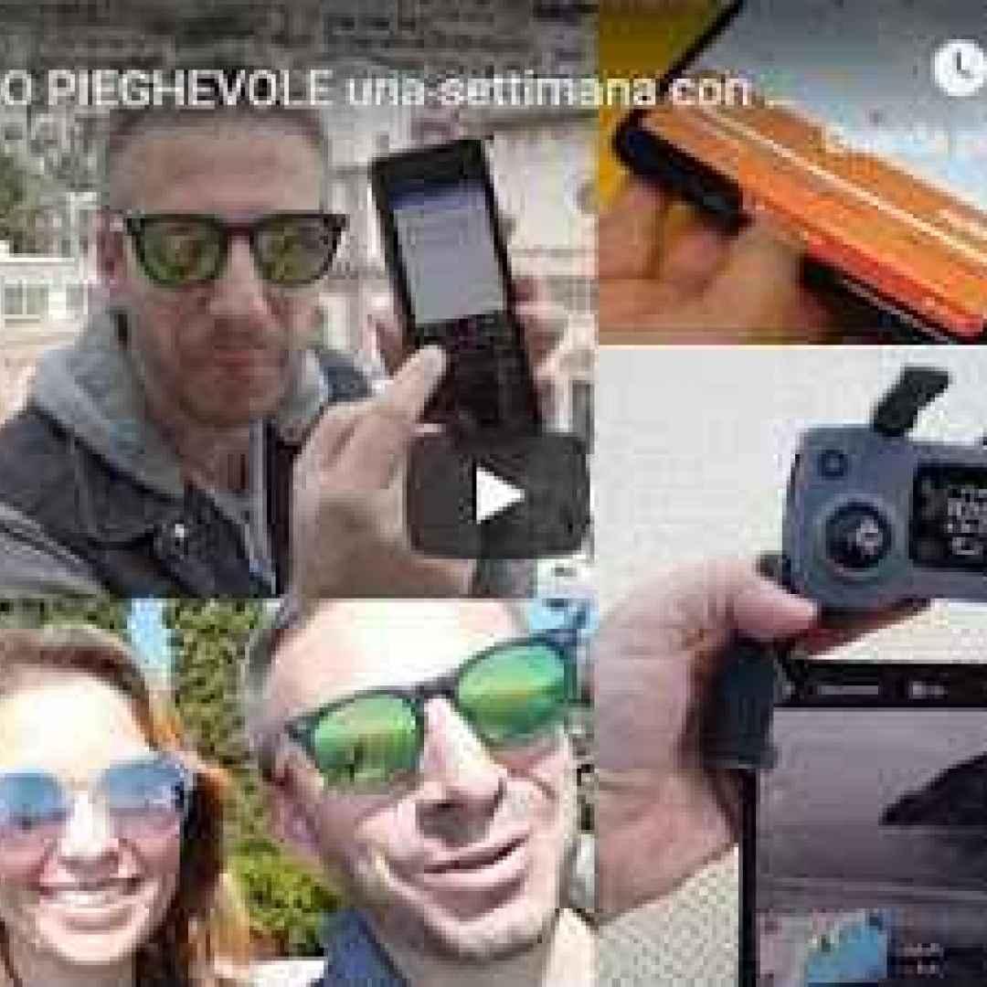 samsung galaxy video smartphone fold