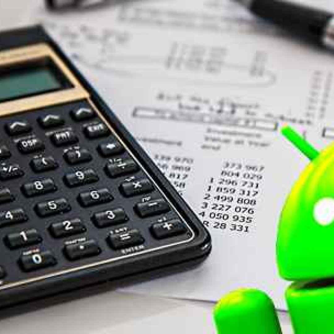 calcolatrice android applicazioni lavoro