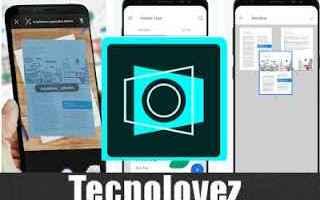 App: adobe scan app documenti scanner