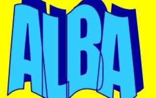 Storia: alba  significato  etimologia  nome