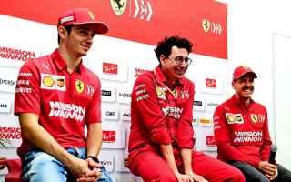 Formula 1: f1  ferrari  binotto  azerbaijangp