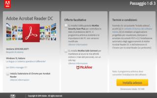 Software: adobe reader  adobe  pdf