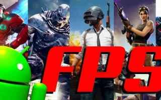 Mobile games: fps  videogiochi  sparatutto  android